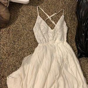 White Forever21 Beach Dress ✨✨